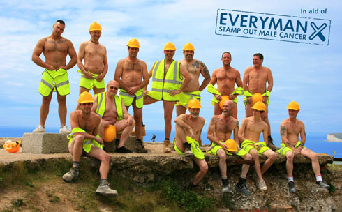 The Belle Tout Builder Boys Everyman Charity Calendar
