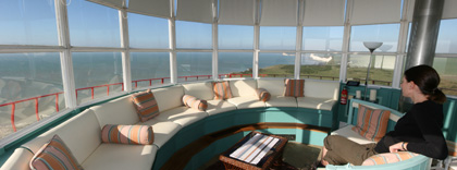 Belle Tout Lantern room with its 360 degree views