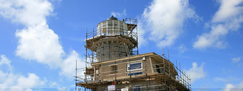 The renovation of the Belle Tout Lighthouse