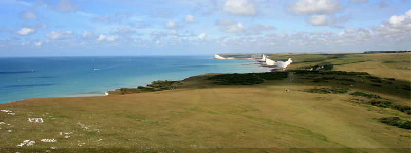 The Seven Sisters from Birling Gap to Cuckmere Haven