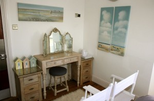 Beach Hut room with ensuite facilities