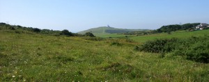 Beautiful scenery and countryside walks around Belle Tout Lighthouse at Beachy Head