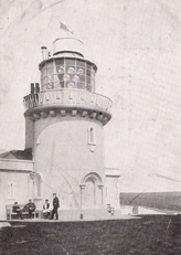 Belle Tout Lighthouse circa 1906 with lantern still in place