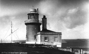 Belle Tout Lighthouse lantern removed