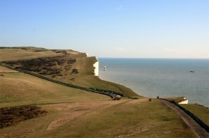 Captains Cabin view East of the Beachy Head Lighthouse