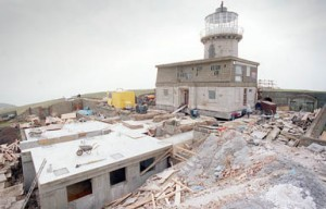 Moving the Belle Tout Lighthouse from the eroding cliff edge
