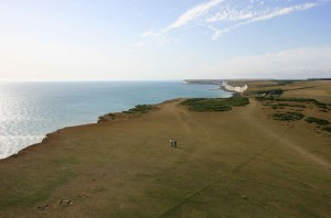 Shiraz view of the Seven Sisters from the Belle Tout Lighthouse at Beachy Head