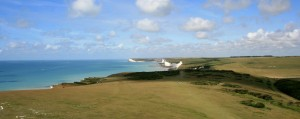 Views of the Seven Sisters from the Belle Tout Lighthouse