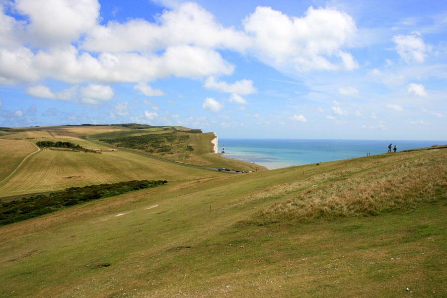 View of Beachy Head