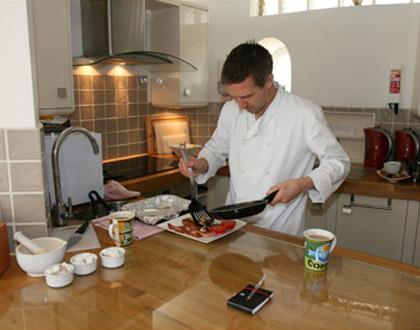 Ian the Belle Tout Chef